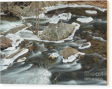 Tellico River Wood Print by Douglas Stucky