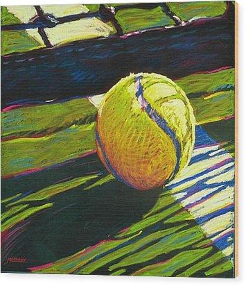 Tennis I Wood Print by Jim Grady
