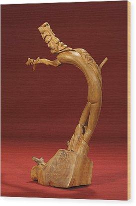 The Acrobat Wood Print by Pimba