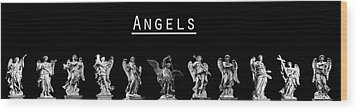 The Angels Of Rome Wood Print by Fabrizio Troiani