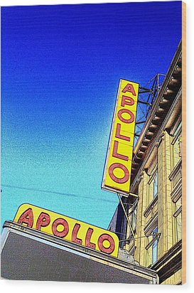The Apollo Wood Print by Gilda Parente