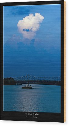 The Beauty Of Light 2 Wood Print by David Lester
