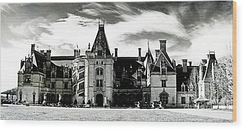 The Biltmore Estate 2 Wood Print by Luther   Fine Art