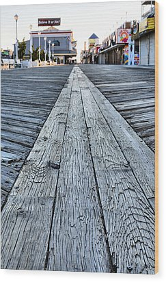 The Boardwalk Wood Print by JC Findley