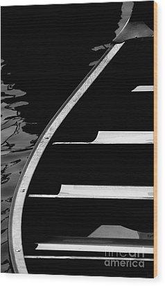 The Canoe Wood Print by Jeff Breiman