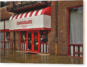 The Chocolate Factory Wood Print by David Patterson