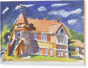 The Church On Shepherd Street II Wood Print by Kip DeVore