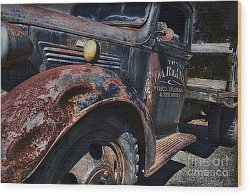 The Darlins Truck Wood Print by David Arment