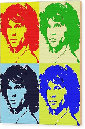 The Doors And Jimmy Wood Print by Robert Margetts