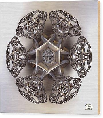 The Eye Of Harmony Wood Print by Manny Lorenzo