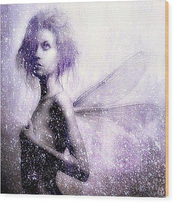 The First Spring Fairy Wood Print by Gun Legler