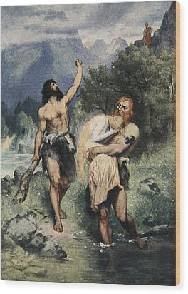 The Giants Bore Freia Away, From The Wood Print by Ferdinand Leeke