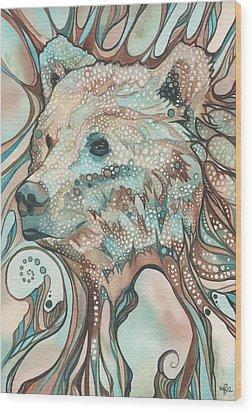 The Great Bear Spirit Wood Print by Tamara Phillips