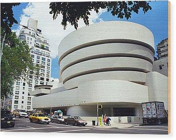 The Guggenheim Wood Print by Allen Beatty