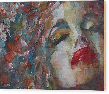 The Last Chapter Wood Print by Paul Lovering