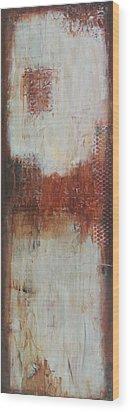 The Lost Panel #2 Wood Print by Lauren Petit