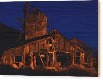 The Mill Wood Print by Greg Thelen