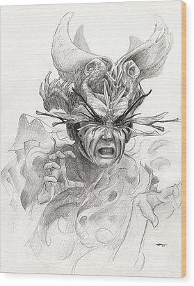 The Rascal Wood Print by Ethan Harris