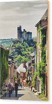 Wood Print featuring the photograph The Real Taste Of France by Thierry Bouriat