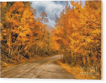 The Road Less Traveled Wood Print by Jon Burch Photography