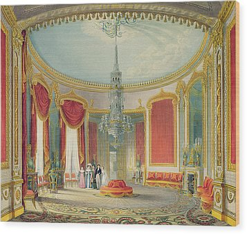 The Saloon In Its Final Phase Wood Print by John Nash
