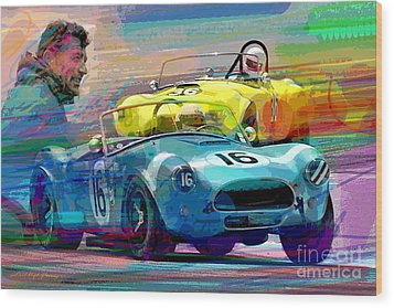 The Shelby Legacy Wood Print by David Lloyd Glover