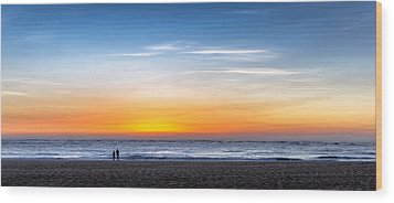 Wood Print featuring the photograph The Sky As The Only Limit by Thierry Bouriat