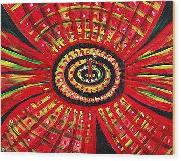The Soul Of The Flower Wood Print by Anastasiya Malakhova