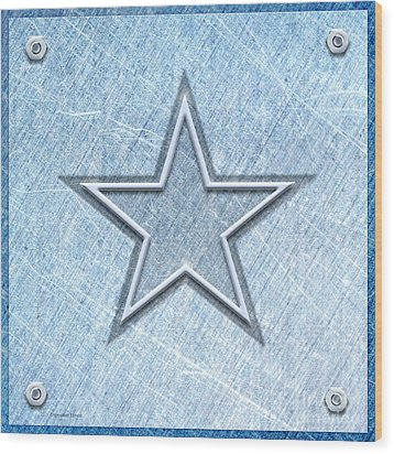 The Star Wood Print by Cristophers Dream Artistry