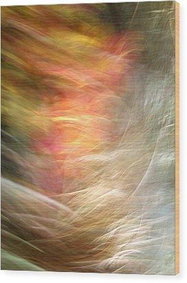 The Subconscious Wood Print by Munir Alawi