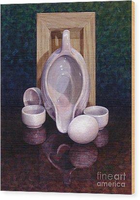 The Surrogate Wood Print by Jane Bucci