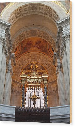 The Tombs At Les Invalides - Paris France - 011333 Wood Print by DC Photographer