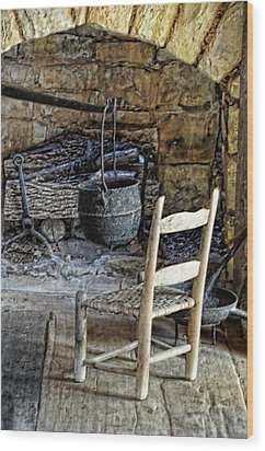 The Warming Place Wood Print by Jan Amiss Photography