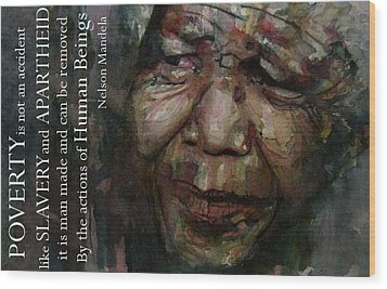 The World Holds It's Breathe Wood Print by Paul Lovering