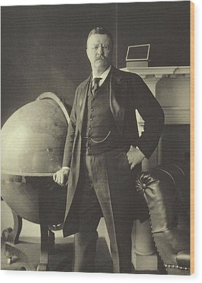 Theodore Roosevelt  Wood Print by Anonymous