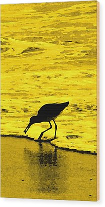 This Beach Belongs To Me Wood Print by Ian  MacDonald