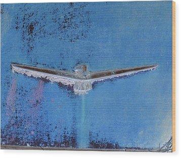 Thunderbird Logo Wood Print by Dietrich ralph  Katz