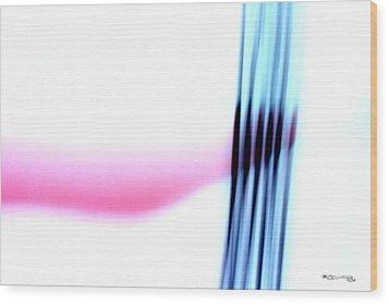 Time On A String 10 Wood Print by Xoanxo Cespon