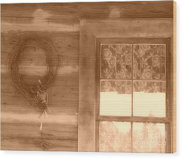 Time To Remember Wood Print by Mariagrazia Stanfield