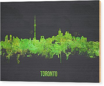Toronto Canada Wood Print by Aged Pixel