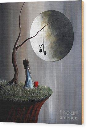 Tree Of Promise By Shawna Erback Wood Print by Shawna Erback
