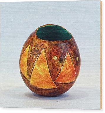 Triangulum No. 1 Wood Print by Mark M  Mellon