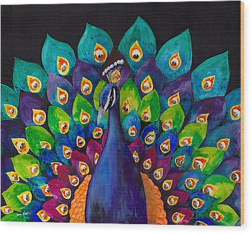 True Colors Wood Print by Susy Soulies