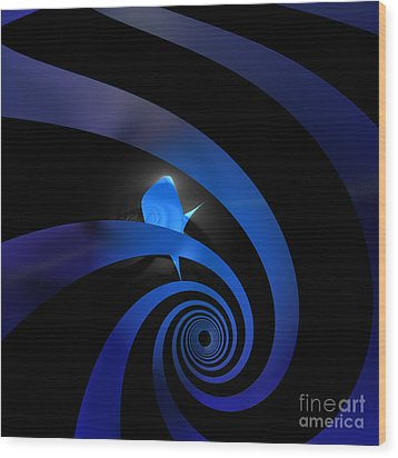 Twilight Zone By Jammer Wood Print by First Star Art