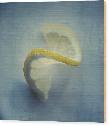 Twisted Lemon Wood Print by Ari Salmela