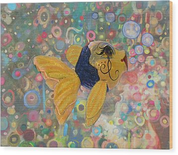 Under The Sea Party Wood Print by Sandi OReilly