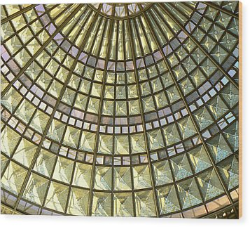 Union Station Skylight Wood Print by Karyn Robinson