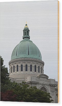 United States Naval Academy In Annapolis Md - 121258 Wood Print by DC Photographer