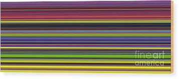 Unity Of Colour 5 Wood Print by Tim Gainey