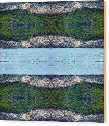 Unnatural 76 Wood Print by Giovanni Cafagna